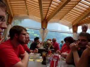 1. August - Mittagessen